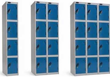 Lockers available as Nests