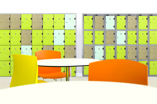 Solid Grade Laminate Door Lockers