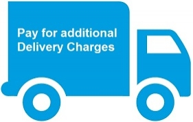 Pay additional Delievery Charges