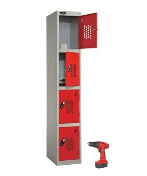 Four Door Power Tool Re-ChargeLocker