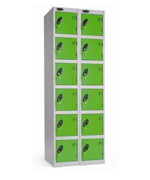 Six Door Locker - Nest of 2