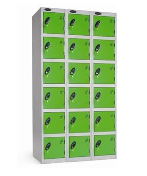 Six Door Locker - Nest of 3