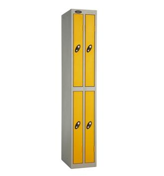 Ultra Slim Line Four Door Locker