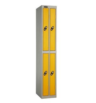 Ultra Slim Line Four Door Locker
