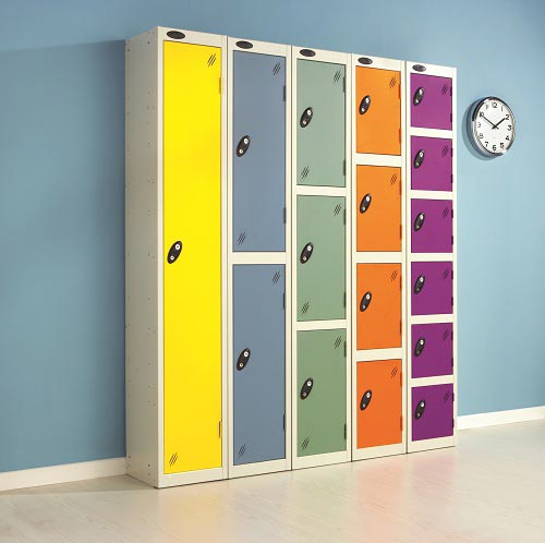 School Colour Range One Door Locker