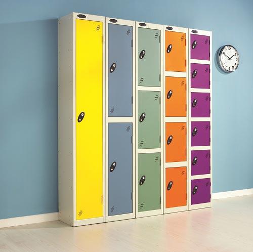 School Colour Range One Door Locker
