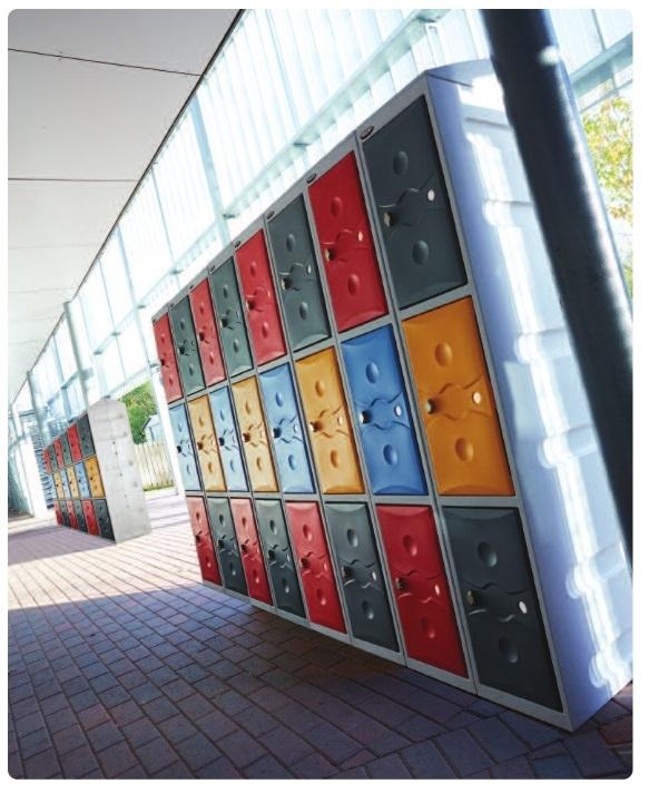 Water Resistant Lockers