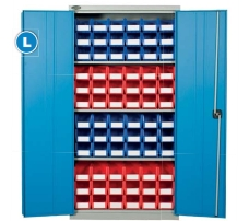 Cupboards with Storage bins